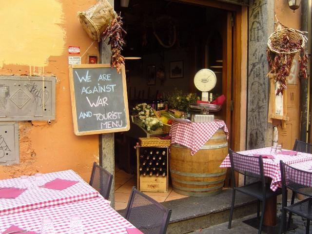 Rome, Trastevere dans restaurants Rome-B1-068