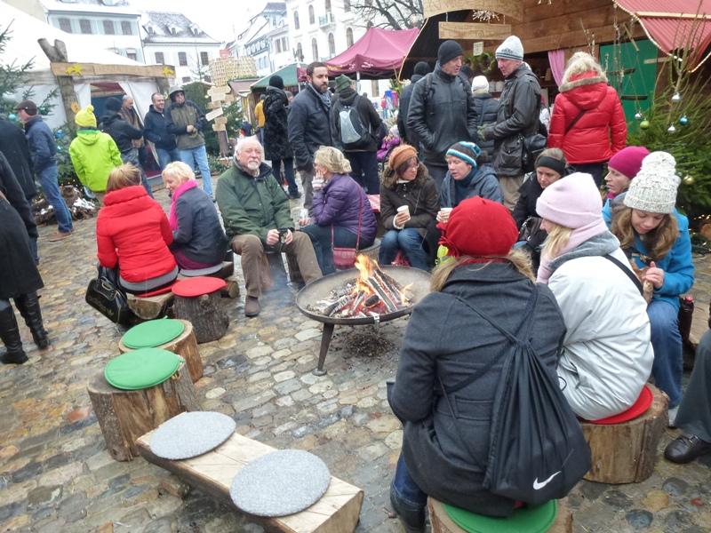 Basel, Bâle, Munsterplatz dans à boire bale-dec-12-020