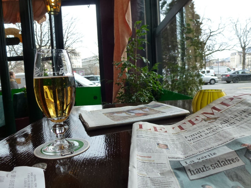 Genève, Plainpalais dans bar geneve-4
