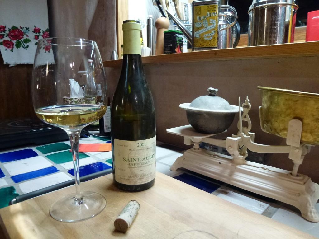 St Aubin 2001, la Fontenotte dans à boire saint-aubin-2