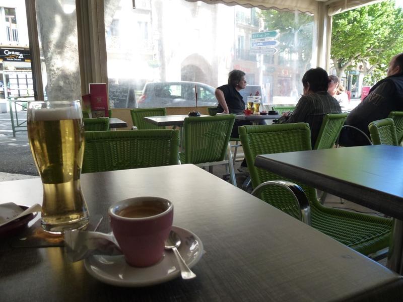 Manosque, boulevard Elemir Bourges dans bistrots manosque-2