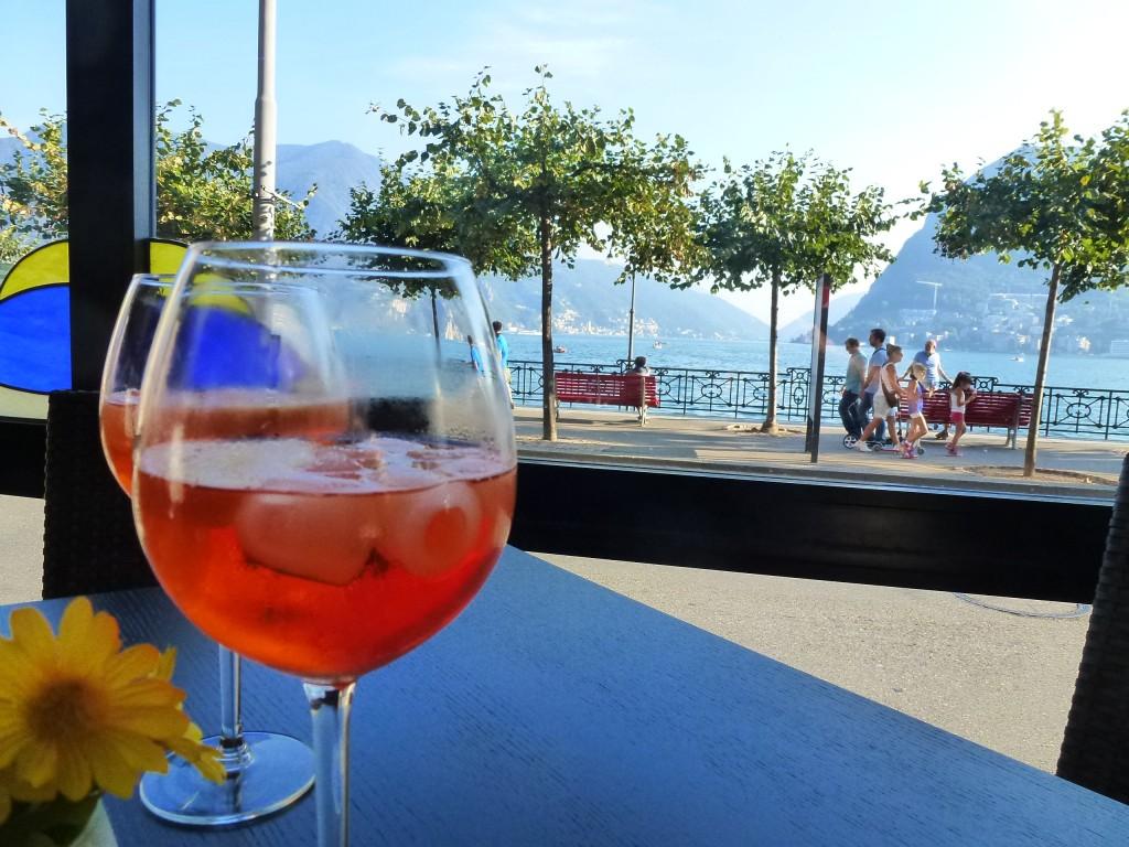 Lugano, canton du Tessin dans bars lugano