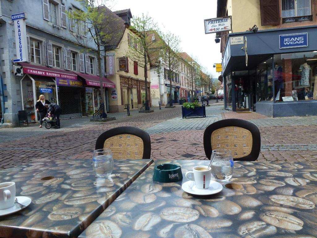 Le café Hansi à Guebwiller