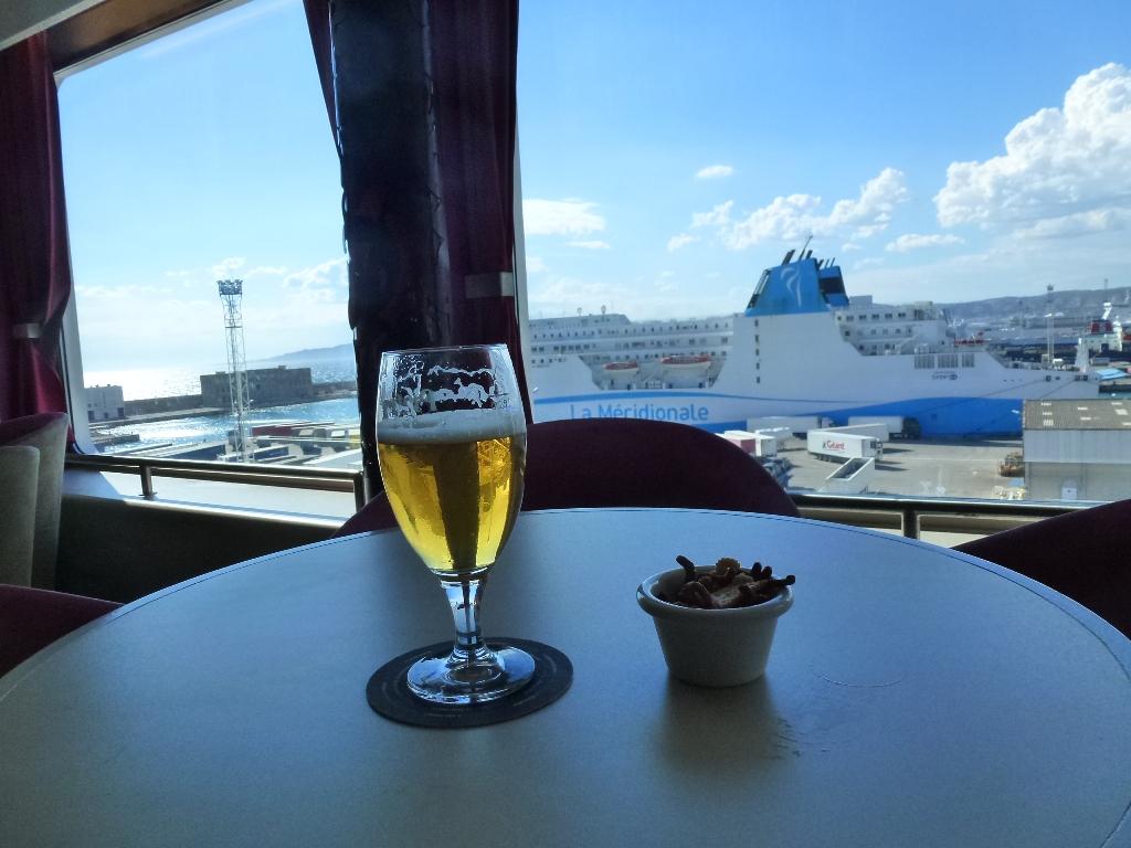 à Marseille à bord du Piana