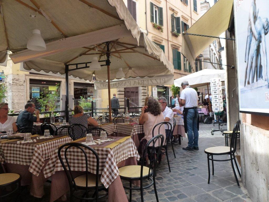 Piazza Pasquino à Rome