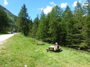 picnic Mont Cenis
